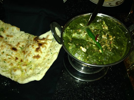 Indian Food Palek Paneer
