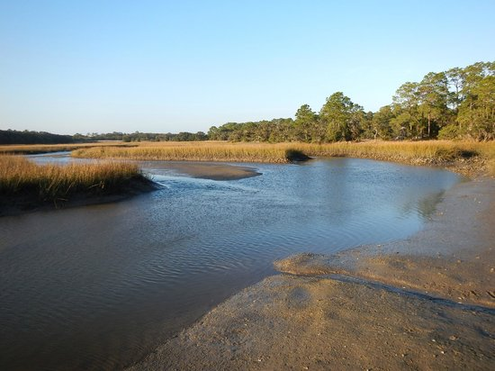Little Talbot Island State Park : Water access nearby