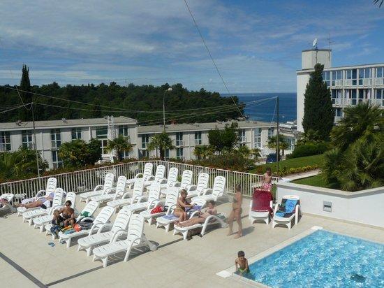 Laguna Istra Hotel: Вид из ресторана