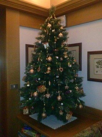 Hotel Europa: Tutto sapientemente arredato per le feste natalizie