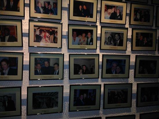 Corral de la Moreria: wall of fame LORO CI SONO STATI