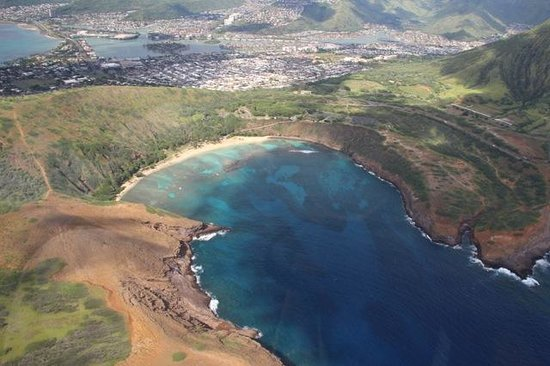 Blue Hawaiian Helicopter Tours - Oahu: Snorkeling Bay
