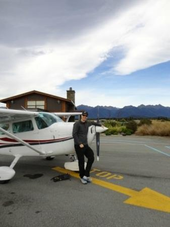 Fly Fiordland : The plane you fly in
