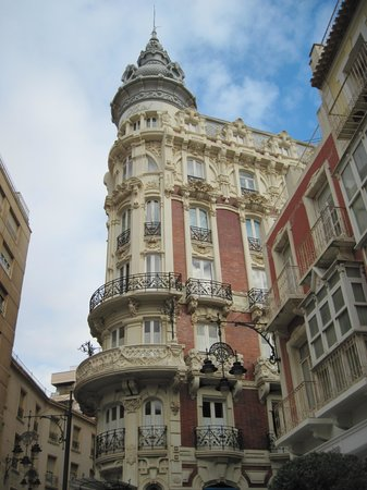 Top Day Tours : Former Hotel in Cartegena Spain