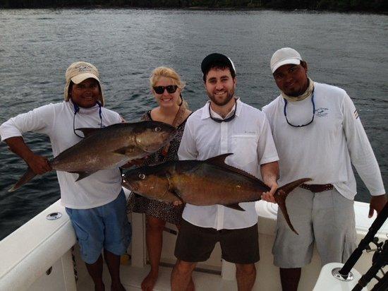 Drake Bay, Costa Rica: Amberjack for dinner