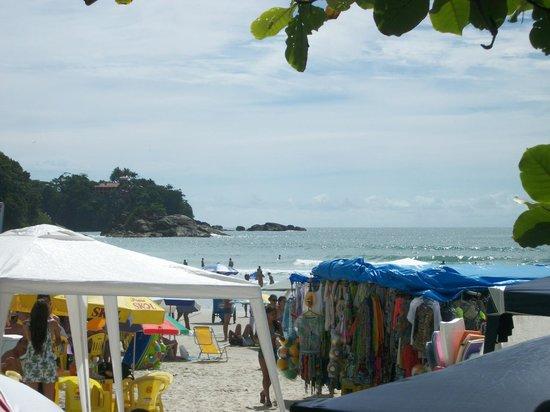 Pousada Bora Mora: praia em frente a pousda