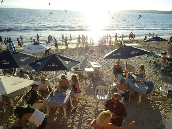 Breakers Restaurant and Beach Bar: View from up above