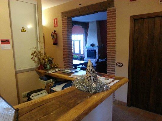 La Data Centro de Turismo Rural: Hall del hotel