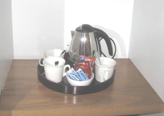 The d Hotel Drogheda: in-room coffee/teas set-up