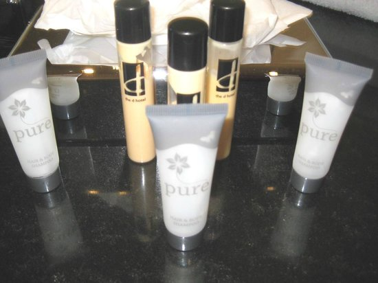 The d Hotel Drogheda: Pure bath products & orange body lotion