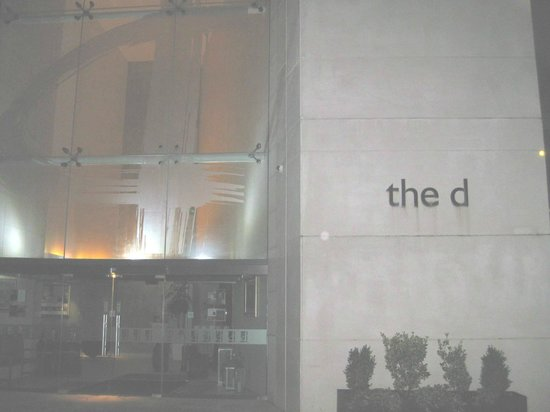 "The d Hotel Drogheda: The ""d"" Hotel front entrance"