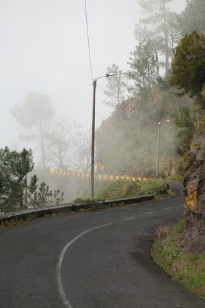 Valley of the Nuns : Last miles of road leading to the popular viewing point.