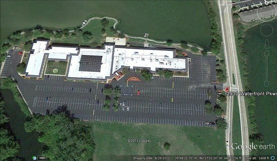 Clarion Hotel & Conference Center: Aerial View of Hotel