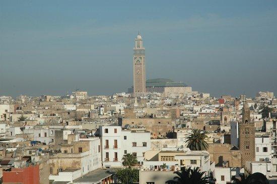 Royal Mansour Casablanca: Вид из номера на мечеть Hassan