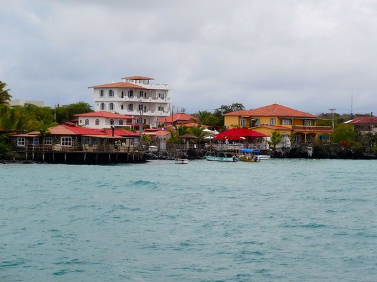 Angermeyer Waterfront Inn : View from water taxi