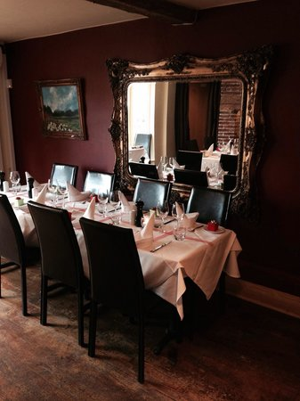 Lower Street Brasserie: Private table