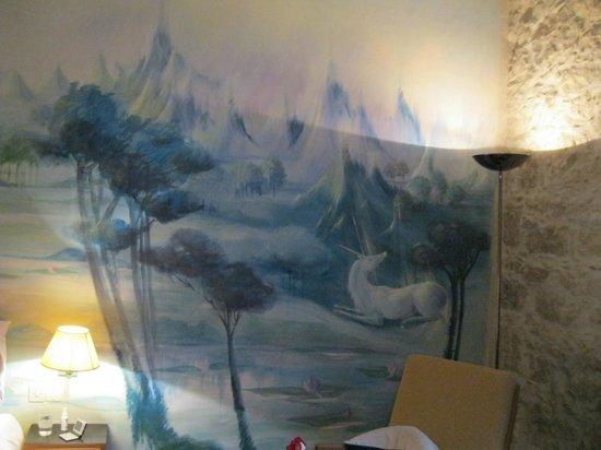 Hotel Windsor Nice: Le cerf et la licorne