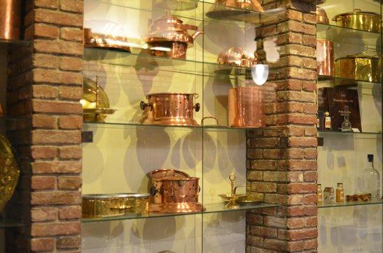 Restaurant d'Vijff Vlieghen: museum inside