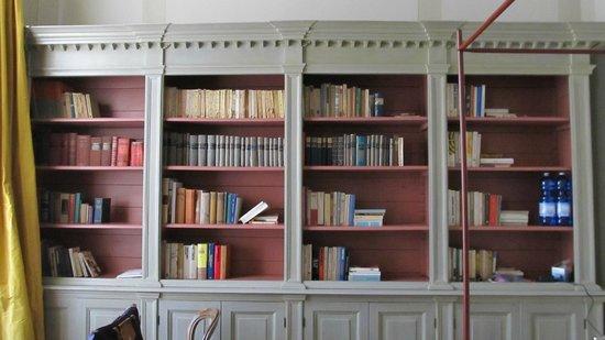 Antica Torre di Via Tornabuoni : Library