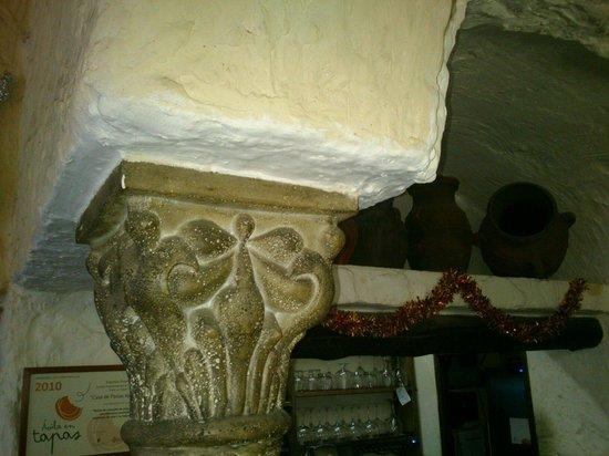 Casa de Postas: Las columnas de casapostas.