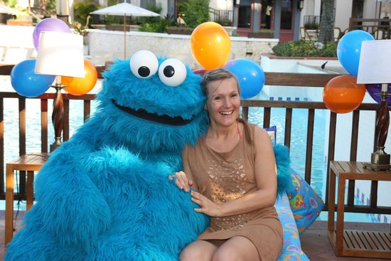 Beaches Negril Resort & Spa : Cookie Monster