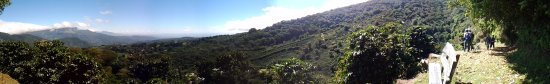 Finca Lerida : valley view from the hiking trail