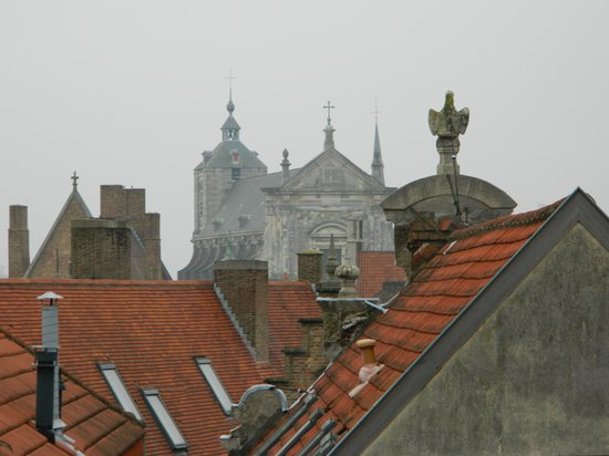 Hotel Heritage - Relais & Chateaux: View from roof window.