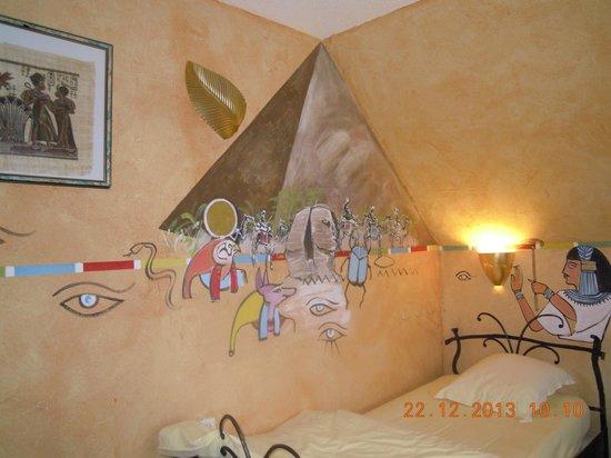 Hotel Champ'Alsace Aerodrome : chambre