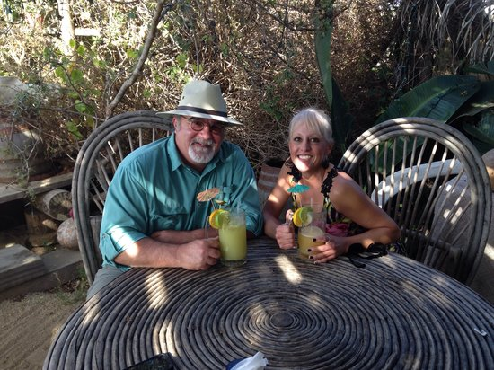 Art and Beer: Tom and Cyndee- Appreciating the entire experience!
