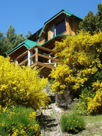 Apart Hotel Cabañas Balcón al Lago: Vista Cabañas 1 y 4
