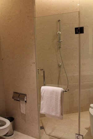 Langham Place, Beijing Capital Airport: Big shower with great water pressure