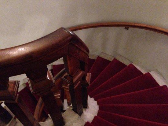 Hotel Esplanade: Винтовая лестница