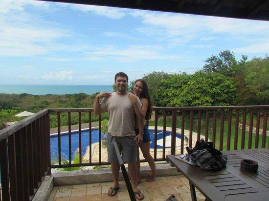 Pousada OKA da MATA: Vista do apartamento de frente para a piscina