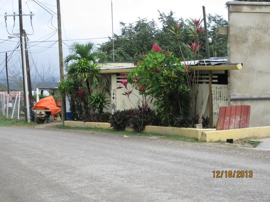 San Ignacio Resort Hotel: another part of hote from street