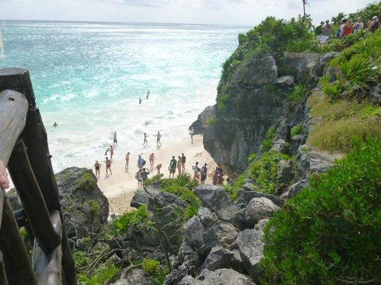 Mayan Beach: Vista desde las ruinas
