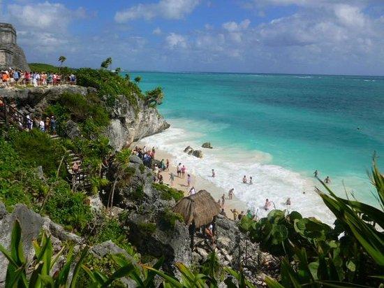Mayan Beach: Vista desde arriba