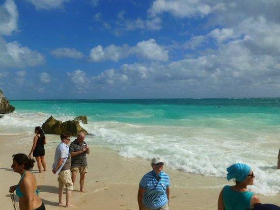 Mayan Beach: Lamentablemente hay poca sombra