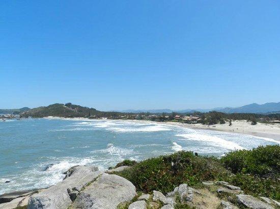 Barra Beach : Praia da Barra do alto do morro.
