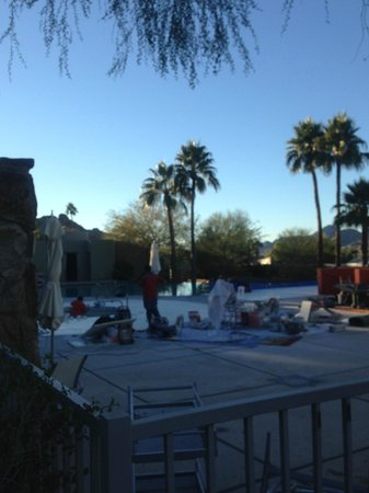 """Sanctuary Camelback Mountain: The pool was officially """"open"""""""