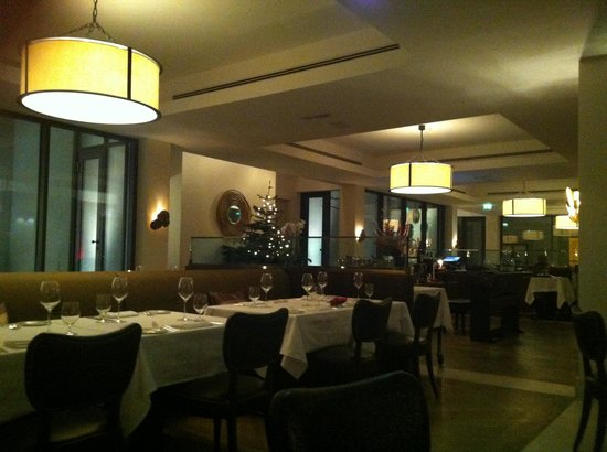 Augustine Restaurant : Dinner, december 24
