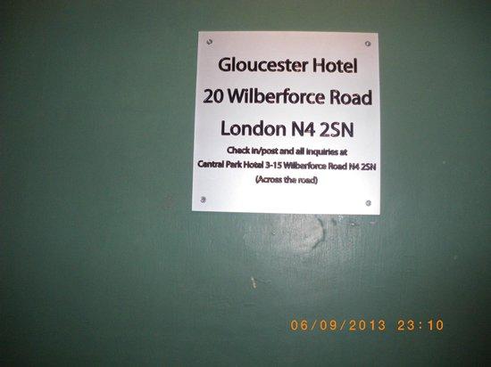 Central Park Hotel@Finsbury Park: vero hotel dov'era la stanza prenotata al central