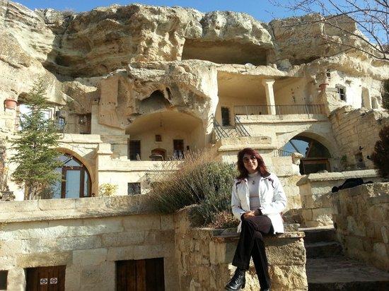 4 أودا كيف هاوس بوتيك هوتل: 4 Oda Cave Hotel, bahçe