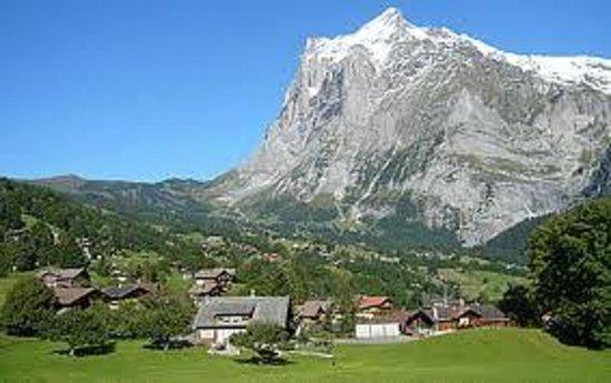 Grindelwald, İsviçre: メンリッヒェンバーン1