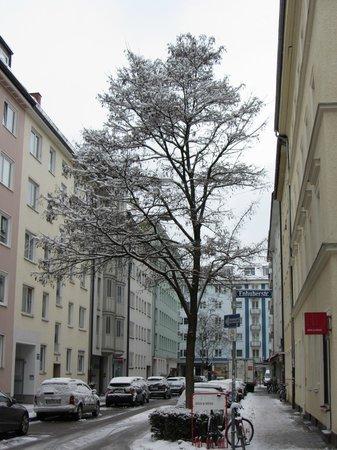 Hotel Königswache: Вид из номера