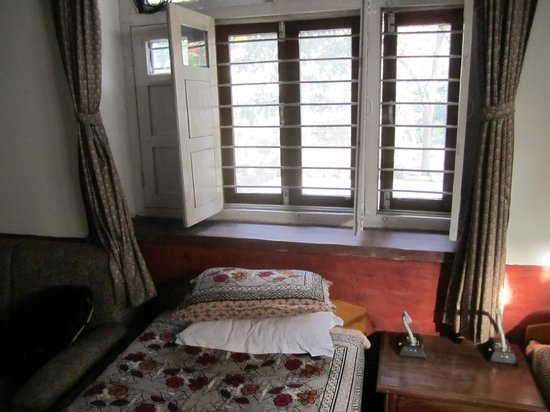 Krishna's House: our room is on the ground level