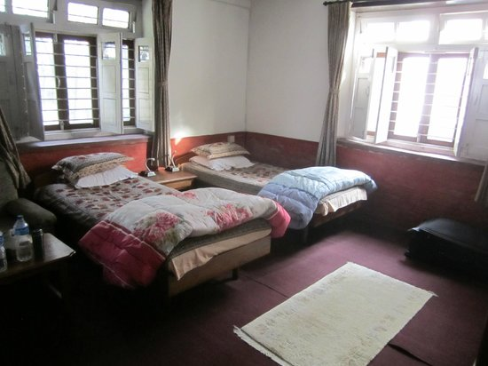 Krishna's House: this picture showed a little bit brighter than the actual room