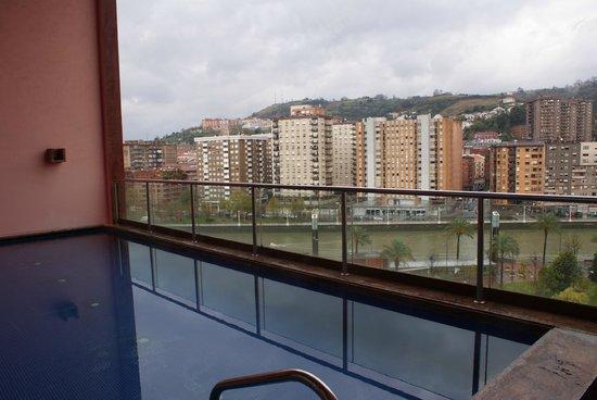 Melia Bilbao: The Pool view