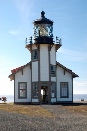 Point Cabrillo Light Station State Historic Park : The beautiful lighthouse