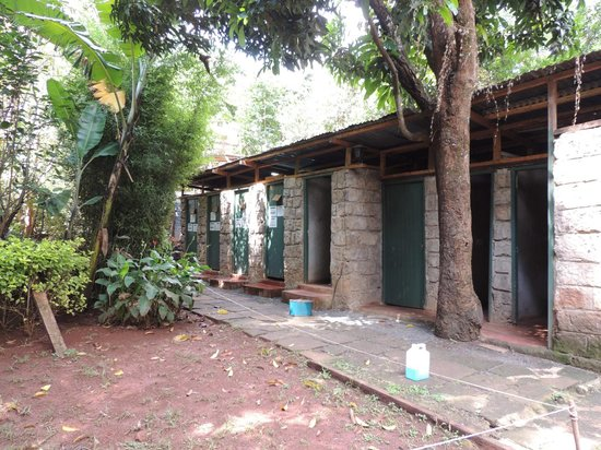 Upper Hill Campsite: the shared bathrooms