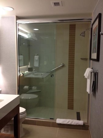 Hyatt Place Austin Downtown: Super cute bathroom with a beautiful Koehler sink!